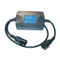 CANdi модуль для GM Tech 2